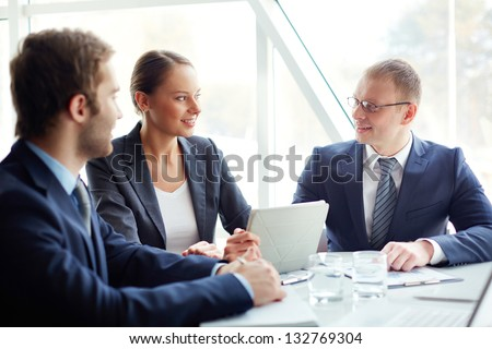 Team of professionals - stock photo