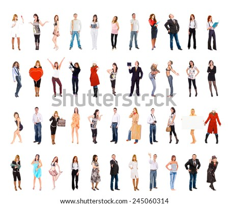 Team Together People Diversity  - stock photo