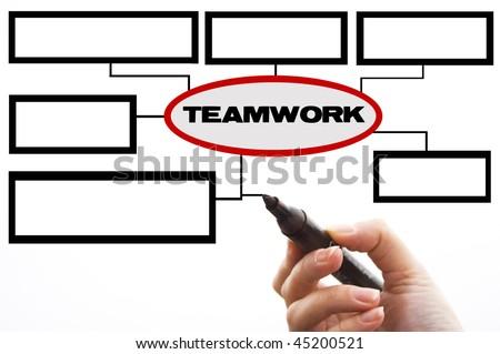 Teamwork - stock photo