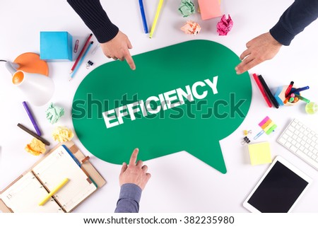 TEAMWORK BUSINESS BRAINSTORM EFFICIENCY CONCEPT - stock photo