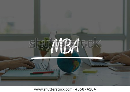 TEAMWORK OFFICE BUSINESS COMMUNICATION TECHNOLOGY  MBA GLOBAL NETWORK CONCEPT - stock photo