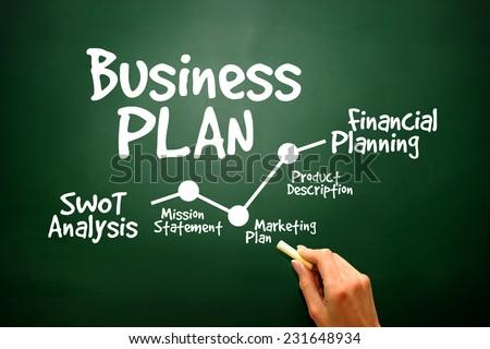 Teamwork on a Business plan, timeline, presentation background - stock photo