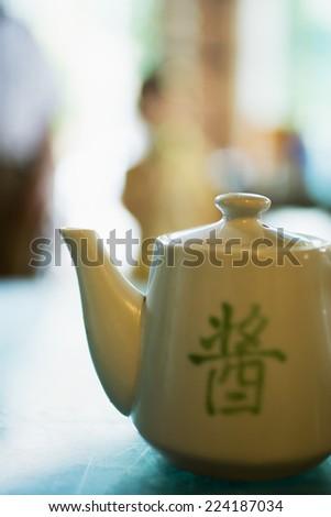 Teapot - stock photo