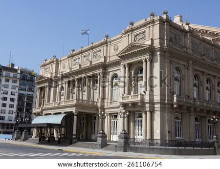 Teatro Colón, Buenos Aires, Argentina. - stock photo