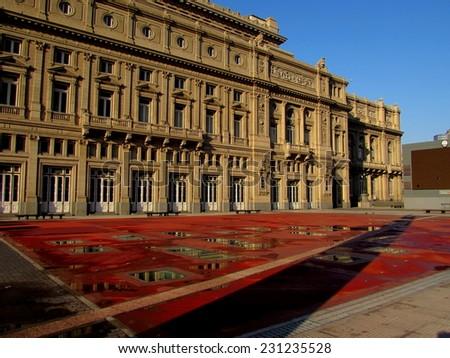 Teatro Colon, Buenos Aires  - stock photo