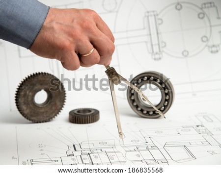 Technical drawing and measurement