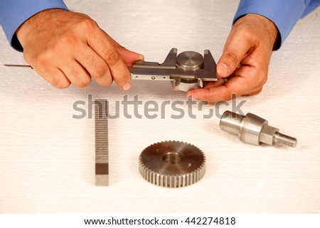 technical measurement - stock photo