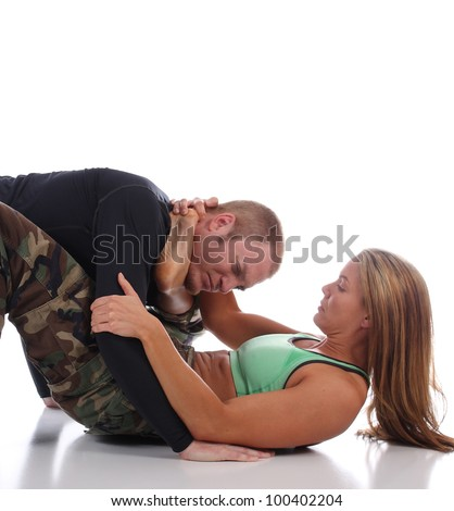 Technical Skills in Combat - stock photo