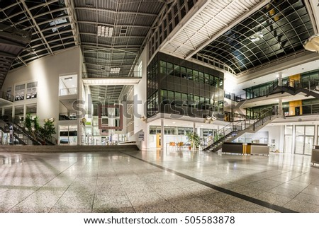 Technical University Munich Germany Education Mechanical Engineering Building Interior Nighttime Architecture Detail Facility Department October 23