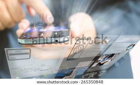 Technologies for success concept. - stock photo
