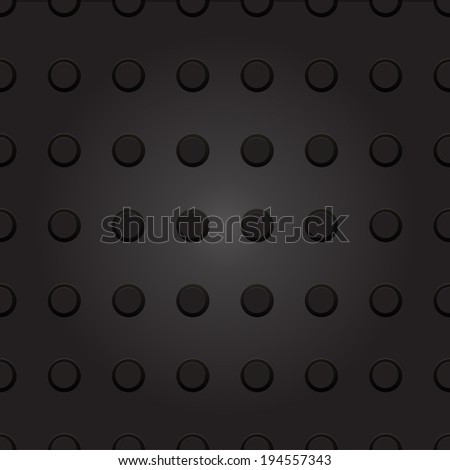 Technology background with seamless circle plastic dot. texture for internet sites, web user interfaces and applications.