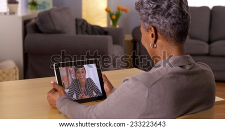 Technology bringing loved ones together
