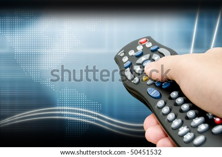 technology channel - stock photo