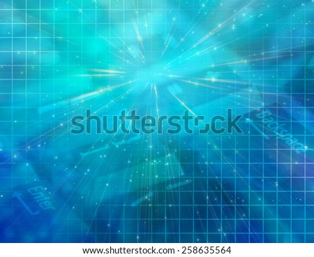 Technology Composition - stock photo