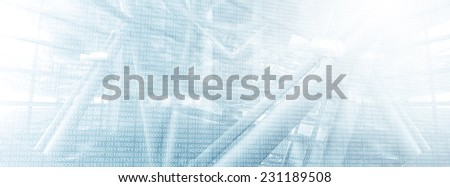 Technology Infrastructure - stock photo