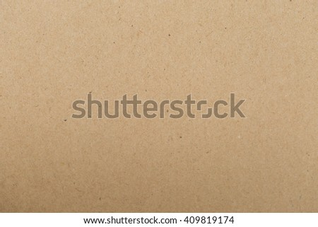 Tecture Sheet of brown paper useful for background - stock photo