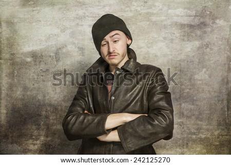 Teen social problem - stock photo