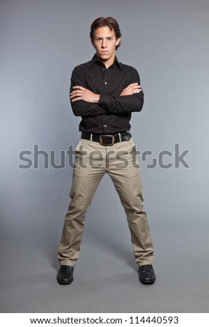 Khaki Pants Stock Images Royalty-Free Images &amp Vectors | Shutterstock