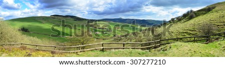 Teggs Nose country park, Macclesfield, Cheshire - stock photo