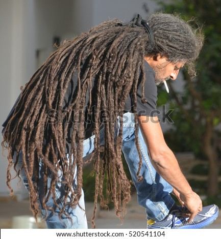 Rasta people stock images royalty free images vectors tel aviv israel 07 11 16 rasta man is a man who belongs to the publicscrutiny Image collections