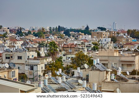Tel Aviv - 25 October, 2016: Tel Aviv city view