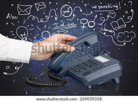 Telephone, voip, Office.