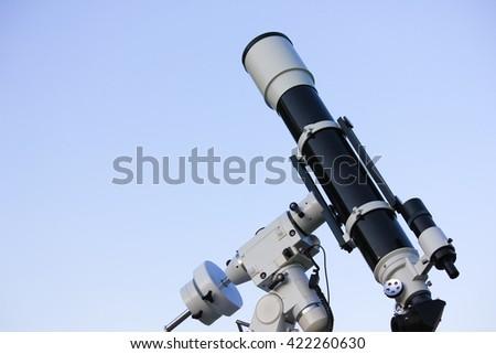 Telescope - stock photo