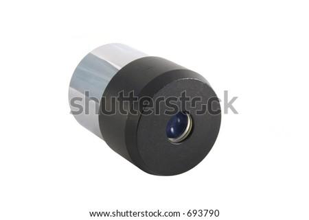 telescope lens - stock photo