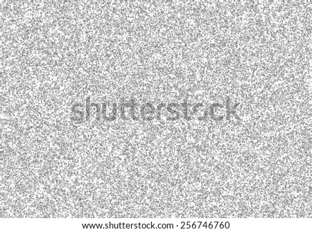 Television interference. Black and white noise on tv screen. Gray shades glitch grunge texture. - stock photo