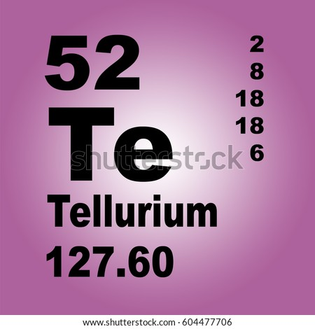 Tellurium periodic table elements stock illustration 604477706 tellurium periodic table of elements urtaz Image collections