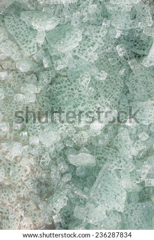 tempered glass - stock photo
