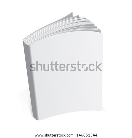 Template book  - stock photo