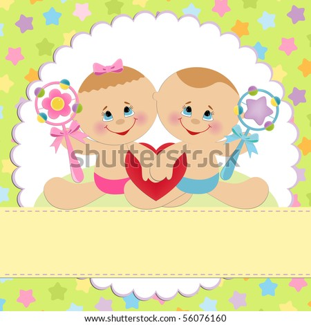 Twins Birthday Stock Images, Royalty-Free Images & Vectors ...