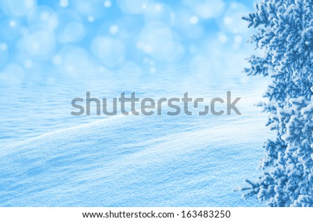 Template for holiday greeting card - stock photo