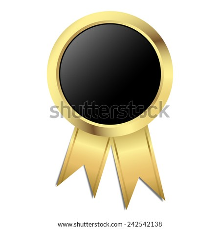 Template Seal - gold with black