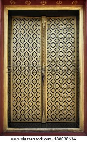temple & thai Door\