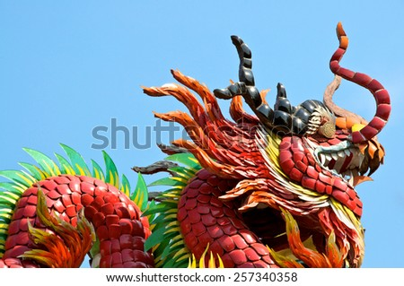 Temple Dragon Thailand