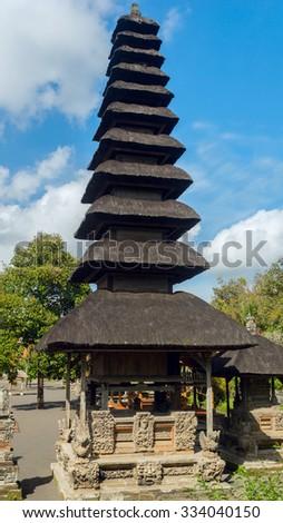 Temple in Bali - stock photo