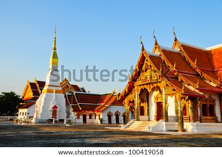 Temple in Thailand - stock photo