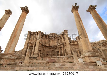 Temple of Artemis,Jarash Jordan