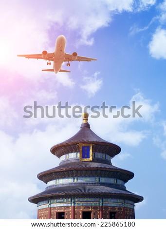 Temple of Heaven,Beijing,Asia - stock photo