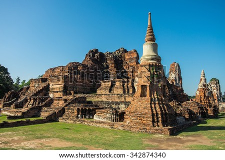 Temple of the Great Relics in Ayutthaya