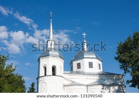 temples of Great Novgorod, Russia