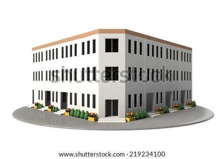 Tenant building - stock photo