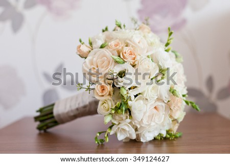 Tender Bride's bouquet