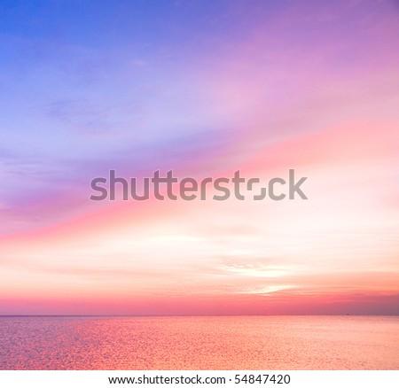 tender sunrise - stock photo