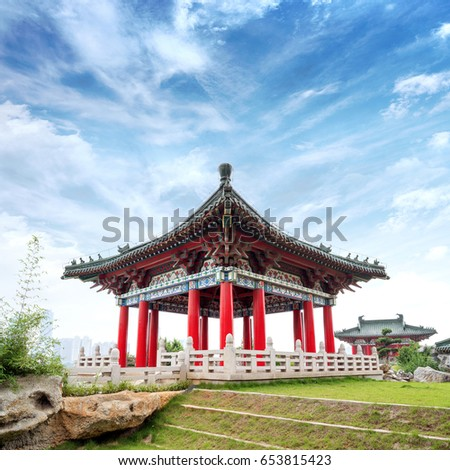 tengwang pavilion nanchangtraditional ancient chinese architecture