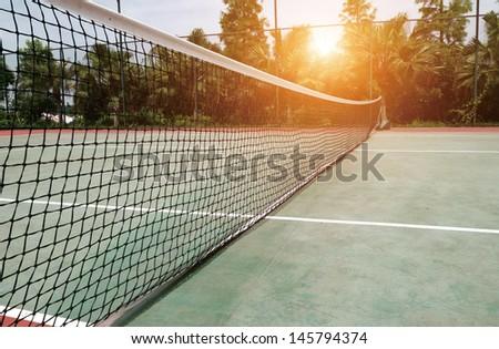 Tennis Court - stock photo