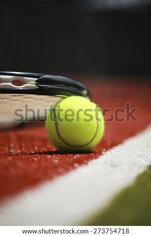 Tennis, Court, Tennis Ball.