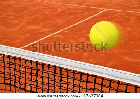 Tennis game - stock photo